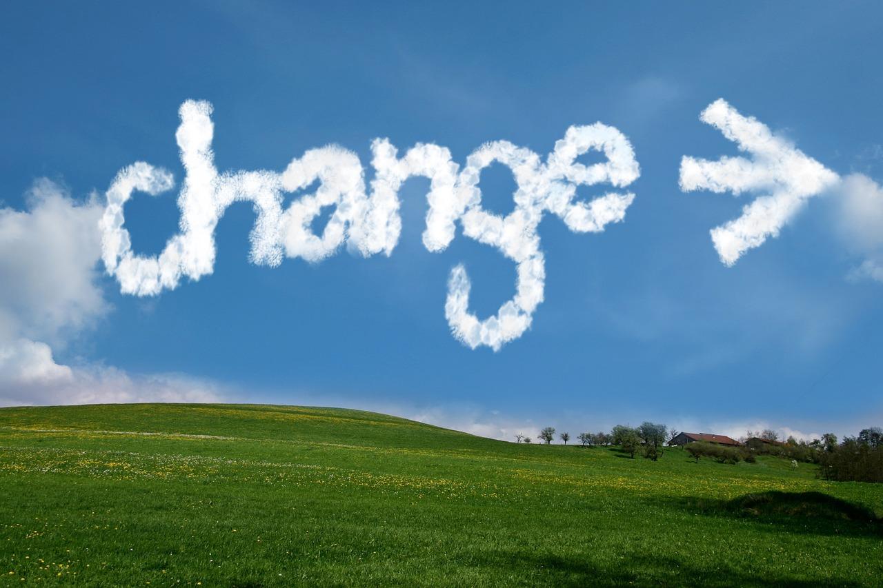 ¿Cómo aceptas el cambio?